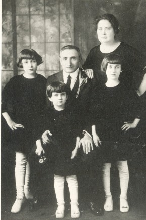 Hyman &amp; Lillian (Cooper) Geller family-1