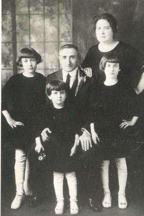 Hyman & Lillian (Cooper) Geller family-1