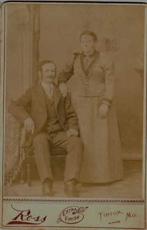 Lena Tucker and unidentified - front